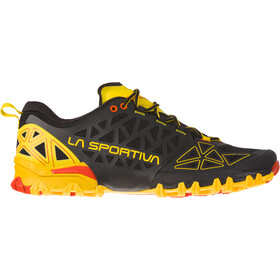 La Sportiva Bushido II Zapatillas running Hombre, negro/amarillo